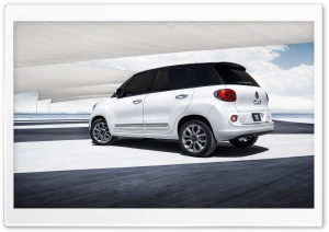 2014 Fiat 500L Rear HD Wide Wallpaper for Widescreen
