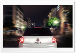 2014 Fiat 500L Speed HD Wide Wallpaper for 4K UHD Widescreen desktop & smartphone