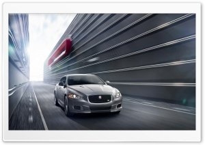 2014 Jaguar XJR Car HD Wide Wallpaper for Widescreen