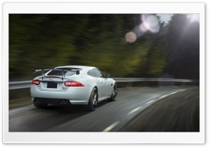 2014 Jaguar XKR S GT Rear HD Wide Wallpaper for Widescreen