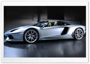 2014 Lamborghini Aventador LP700 4 Roadster Side View HD Wide Wallpaper for 4K UHD Widescreen desktop & smartphone
