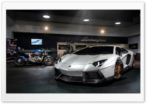 2014 Lamborghini Aventador Novitec Torado HD Wide Wallpaper for Widescreen