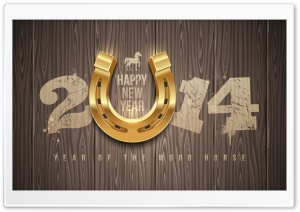 2014 Lucky Year HD Wide Wallpaper for Widescreen