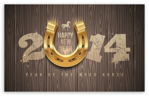 Download 2014 Lucky Year UltraHD Wallpaper