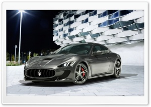 2014 Maserati GranTurismo HD Wide Wallpaper for 4K UHD Widescreen desktop & smartphone