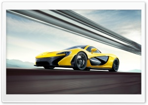 2014 Mclaren P1 HD Wide Wallpaper for Widescreen