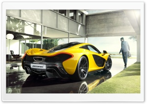 2014 McLaren P1 Luxury Car HD Wide Wallpaper for Widescreen