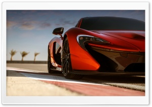 2014 Mclaren P1 Ready to Go HD Wide Wallpaper for Widescreen