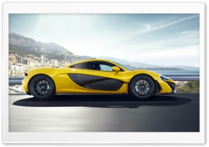 2014 McLaren P1 Side View HD Wide Wallpaper for Widescreen