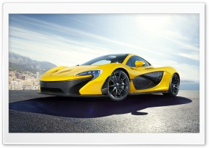 2014 McLaren P1 Supercar HD Wide Wallpaper for Widescreen