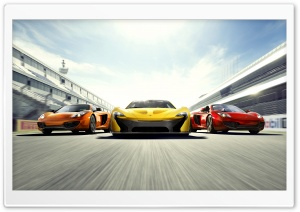 2014 McLaren P1 Supercars Speed