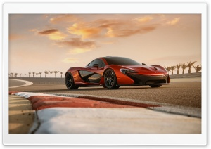 2014 McLaren P1 Test Drive HD Wide Wallpaper for Widescreen