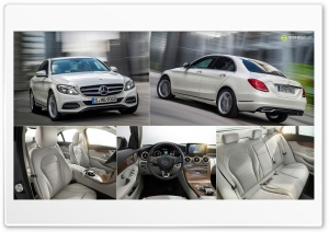 2014 Mercedes-Benz C-Class HD Wide Wallpaper for Widescreen
