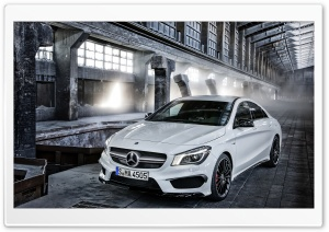 2014 Mercedes Benz CLA45 AMG HD Wide Wallpaper for 4K UHD Widescreen desktop & smartphone