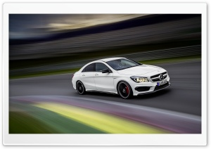 2014 Mercedes Benz CLA45 AMG RaceTrack HD Wide Wallpaper for Widescreen