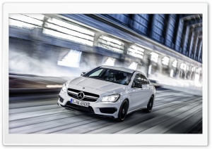 2014 Mercedes Benz CLA45 AMG Speed HD Wide Wallpaper for 4K UHD Widescreen desktop & smartphone