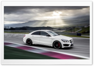 2014 Mercedes Benz CLA45 AMG Test Drive HD Wide Wallpaper for Widescreen