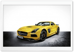 2014 Mercedes Benz SLS AMG HD Wide Wallpaper for Widescreen