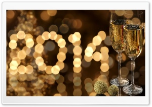 2014 New Year HD Wide Wallpaper for Widescreen