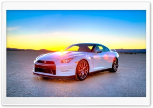 2014 Nissan GTR HD Wide Wallpaper for Widescreen