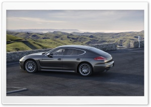 2014 Porsche Panamera HD Wide Wallpaper for 4K UHD Widescreen desktop & smartphone