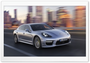 2014 Porsche Panamera City Ultra HD Wallpaper for 4K UHD Widescreen desktop, tablet & smartphone