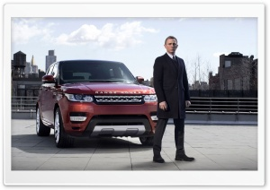 2014 Range Rover Sport - James Bond HD Wide Wallpaper for Widescreen