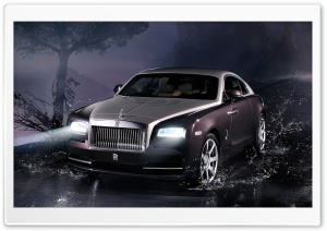 2014 Rolls Royce Wraith HD Wide Wallpaper for 4K UHD Widescreen desktop & smartphone