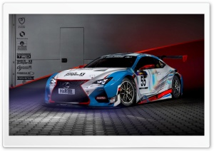 2015 Lexus RC F GT3 Concept HD Wide Wallpaper for 4K UHD Widescreen desktop & smartphone