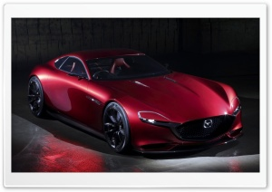 2015 Mazda RX Vision Concept HD Wide Wallpaper for Widescreen