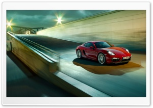 2015 Porsche Cayman GTS HD Wide Wallpaper for Widescreen