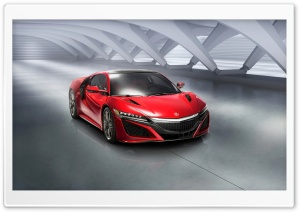 2016 Acura NSX HD Wide Wallpaper for Widescreen