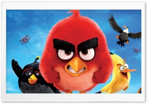 2016 Angry Birds Movie Ultra HD Wallpaper for 4K UHD Widescreen desktop, tablet & smartphone