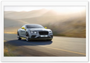 2016 Bentley Continental GT Speed Black Edition HD Wide Wallpaper for Widescreen