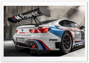 2016 BMW M6 GT3 HD Wide Wallpaper for 4K UHD Widescreen desktop & smartphone