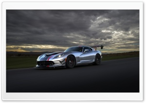 2016 Dodge Viper ACR HD Wide Wallpaper for 4K UHD Widescreen desktop & smartphone