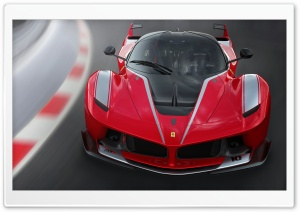 2016 Ferrari FXX K HD Wide Wallpaper for Widescreen