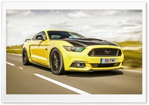 2016 Ford Mustang GT HD Wide Wallpaper for Widescreen