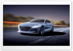 2016 Hyundai Genesis New York Concept HD Wide Wallpaper for 4K UHD Widescreen desktop & smartphone
