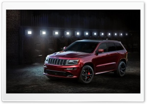 2016 Jeep Grand Cherokee SRT HD Wide Wallpaper for Widescreen