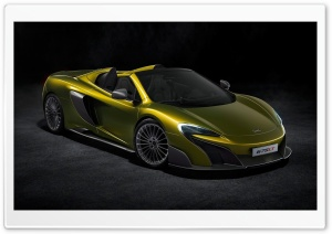 2016 McLaren 675LT Spider HD Wide Wallpaper for Widescreen