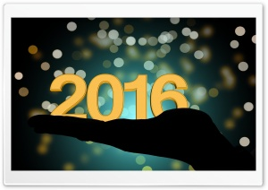 2016 New Year HD Wide Wallpaper for Widescreen