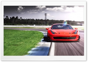 2016 Racing One Ferrari 458 LOMA Wheels HD Wide Wallpaper for Widescreen