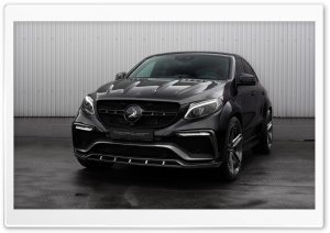 2016 TopCar Mercedes-Benz GLE Inferno Black Carbon HD Wide Wallpaper for Widescreen