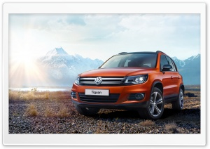 2016 Volkswagen Tiguan SUV HD Wide Wallpaper for Widescreen