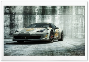 2016 Vorsteiner Ferrari 458 Italia HD Wide Wallpaper for Widescreen