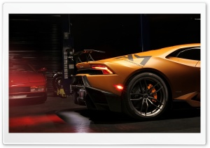 2016 Vorsteiner Lamborghini Huracan VFF 105 HD Wide Wallpaper for 4K UHD Widescreen desktop & smartphone