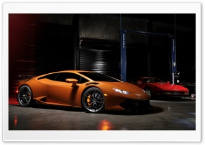 2016 Vorsteiner Lamborghini Huracan VFF 105 HD Wide Wallpaper for Widescreen