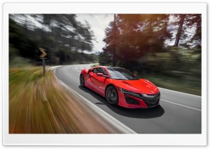 2017 Acura NSX HD Wide Wallpaper for Widescreen