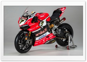 2017 Aruba WorldSBK Ducati Corse Panigale R HD Wide Wallpaper for Widescreen